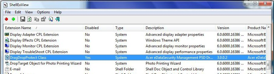 Rhino 4 Crashing on Acer Computers with Egis PSD Security