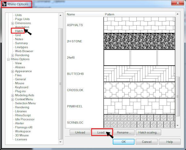 Custom Hatch Patterns For Rhino Mcneel Wiki