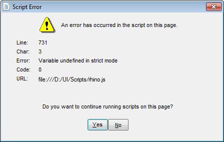 Install Error: